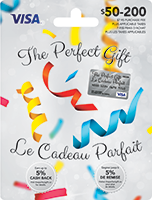 The Perfect Gift VISA Confetti 50-200