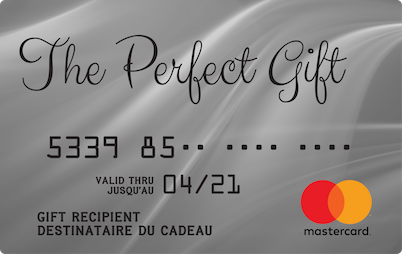 The Perfect Gift Mastercard