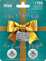 The Perfect Gift™ - Prepaid Mastercard and Visa Cards