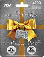 The Perfect Gift VISA 200