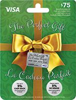 The Perfect Gift VISA 75