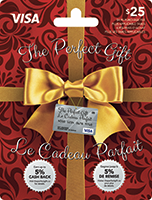 The Perfect Gift VISA 25