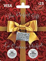 The Perfect Gift VISA 25