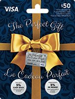 The Perfect Gift VISA 50